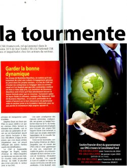 20160824 BUSINESS MAG - Enjeu - CSR - La tourmente